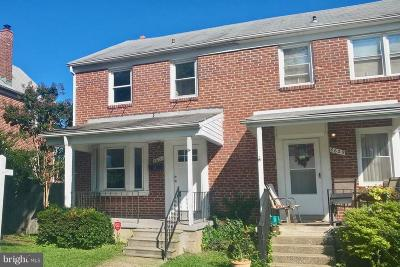 Baltimore Townhouse For Sale: 8631 Black Oak Road