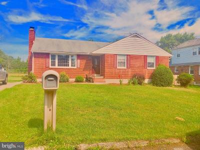 Baltimore County Single Family Home For Sale: 7842 St Thomas Drive