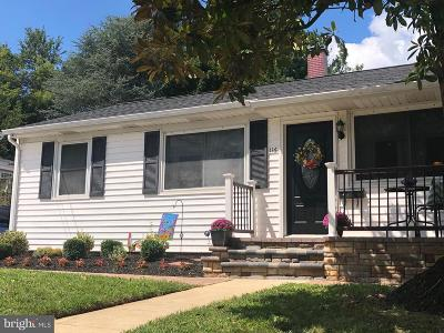 Baltimore County Single Family Home For Sale: 116 Wilgate Road