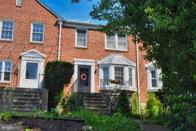 Baltimore County Townhouse For Sale: 146 Dumbarton Road
