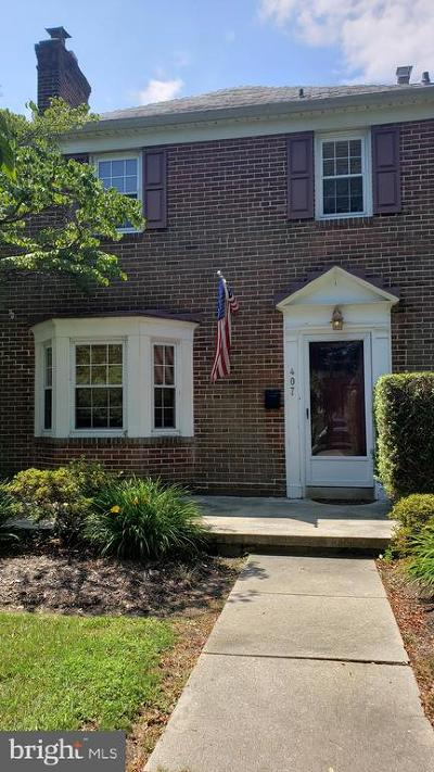 Baltimore County Townhouse For Sale: 407 Regester Avenue
