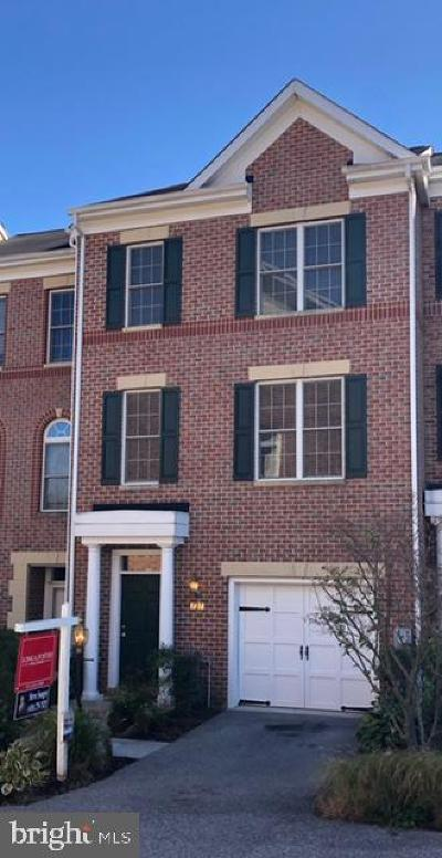 Baltimore County Townhouse For Sale: 127 Hearth Court