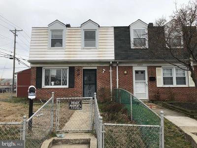 Baltimore Townhouse For Sale: 2001 Dineen Drive