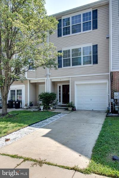 Baltimore Townhouse For Sale: 7 Springtide Court