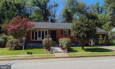 Lutherville Timonium Single Family Home For Sale: 917 Morris Avenue