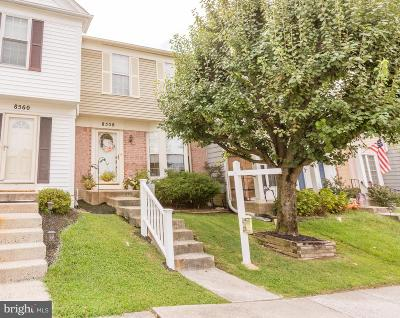 Baltimore County Townhouse For Sale: 8558 Westerman Circle