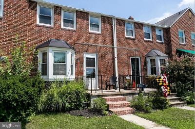 Baltimore County Rental For Rent: 1630 Loch Ness Road