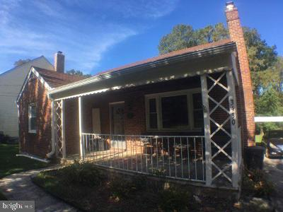 Randallstown Single Family Home For Sale: 3430 Chapman Road