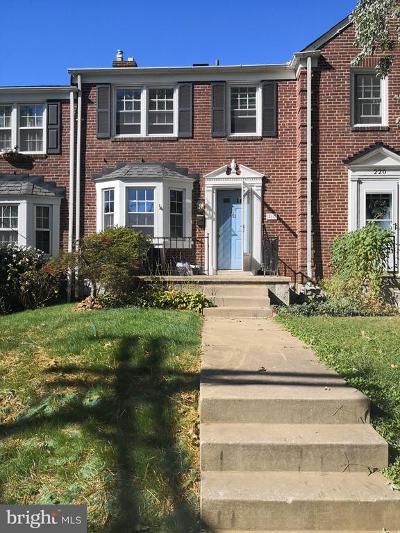 Baltimore County Rental For Rent: 218 Stevenson Lane