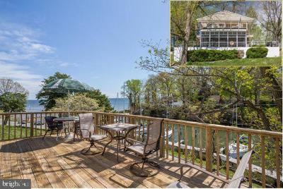 Calvert County Single Family Home For Sale: 1598 N Harbor Drive