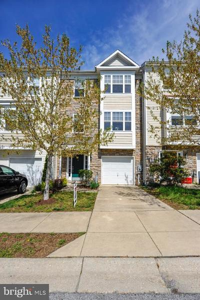 Prince Frederick Townhouse For Sale: 616 Burr Oak Court