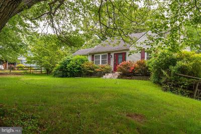 Calvert County Single Family Home For Sale: 60 W Mount Harmony Road