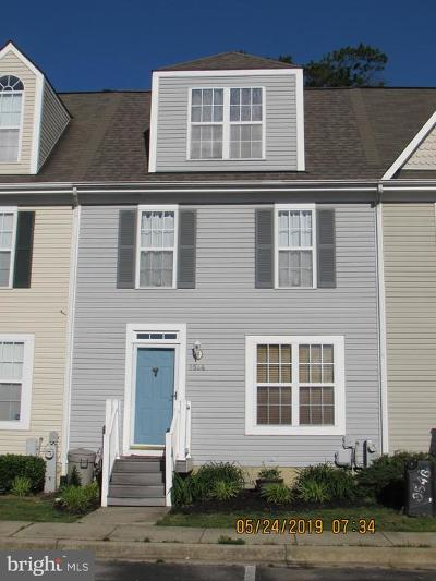 Calvert County Townhouse For Sale: 9544 Sea Gull Court