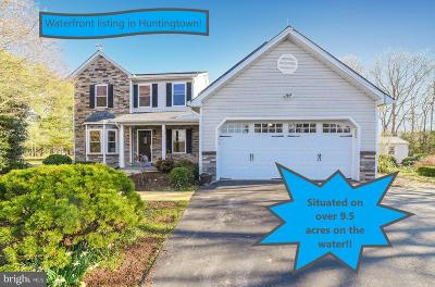 Huntingtown Single Family Home For Sale: 3531 Deep Landing Road