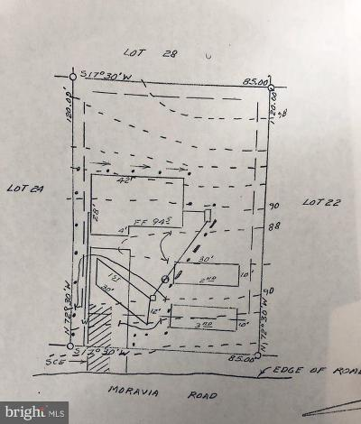 Calvert County Residential Lots & Land For Sale: 930 Moravia Road