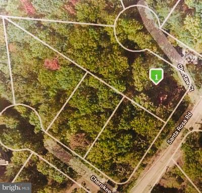 Calvert County Residential Lots & Land For Sale: 991 Chactaw Court