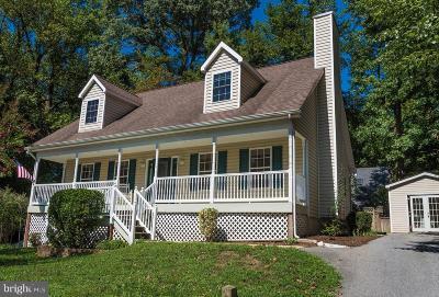 Saint Leonard Single Family Home For Sale: 1415 Woodstock Road
