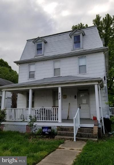Multi Family Home For Sale: 625 Broad Street