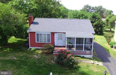 Cecil County Single Family Home For Sale: 44 Circle Drive