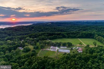 Cecil County Farm For Sale: 170 Conowingo Lake Road