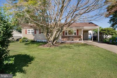 Elkton Single Family Home For Sale: 210 Whitehall Road