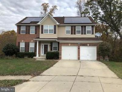 Charles County Single Family Home Under Contract: 3896 Stonegate Court