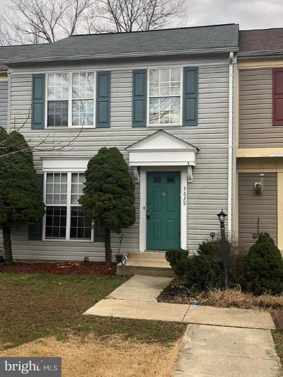 Waldorf Townhouse For Sale: 3629 Kempsford Field Place