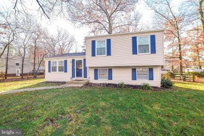 Waldorf Single Family Home Under Contract: 1009 Allward Drive