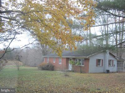 Hughesville Single Family Home Under Contract: 5852 Brandywine Road