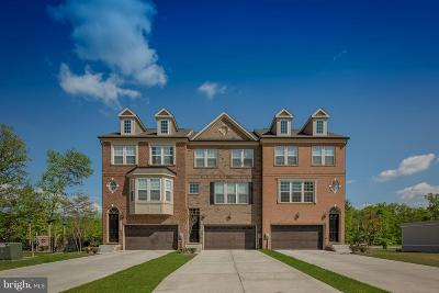 Waldorf Townhouse For Sale: 11411 Grant Place