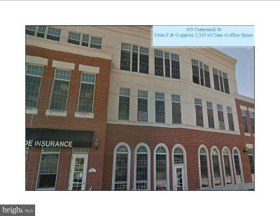 Charles County Commercial Lease For Lease: 105 Centennial Street #308- F &