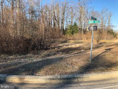 Calvert County, Saint Marys County, Charles County Residential Lots & Land For Sale: Lot 2 Park Ave