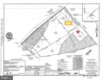 Charles County Residential Lots & Land For Sale: 3749 Carolyn Place