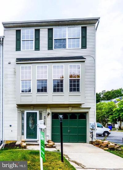 Bryans Road Townhouse For Sale: 6017 Bryans View Way