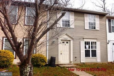 Charles County Townhouse For Sale: 1592 Pin Oak Drive