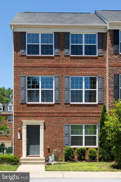 Bryans Road Townhouse For Sale: 3117 Icehouse Place