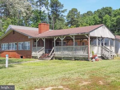 Charles County Single Family Home For Sale: 16081 Cobb Island Road