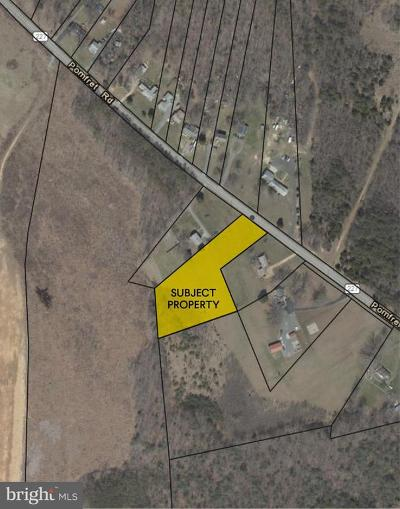 Charles County, Calvert County, Saint Marys County Residential Lots & Land For Auction: 6685 Pomfret Road