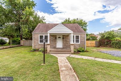Charles County Single Family Home For Sale: 4495 Strauss Avenue