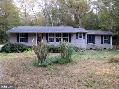 Goldsboro Single Family Home For Sale: 14947 Drapers Mill Road