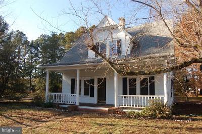 Caroline County Single Family Home For Sale: 4962 Bethlehem Road