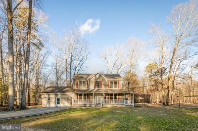 Caroline County Single Family Home For Sale: 25833 Spring Branch Road
