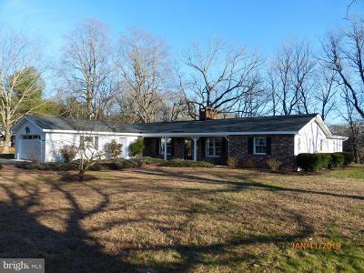 Caroline County Single Family Home For Sale: 24561 Mill Creek Lane