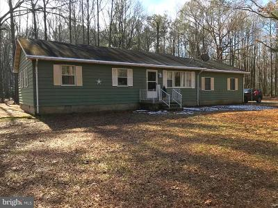 Caroline County Single Family Home For Sale: 27701 Burrsville Road