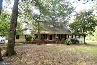 Caroline County Single Family Home For Sale: 25399 Shad Run Way