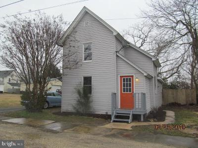 Ridgely Single Family Home For Sale: 208 W 2nd Street