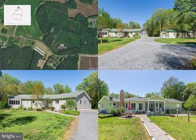 Caroline County Single Family Home For Sale: 24296 E Cherry Lane