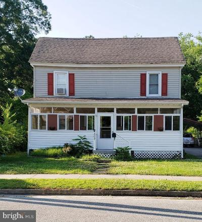 Federalsburg Single Family Home For Sale: 209 Academy Avenue