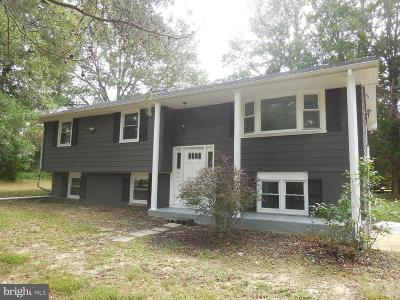 Caroline County Single Family Home For Sale: 18241 Henderson Road