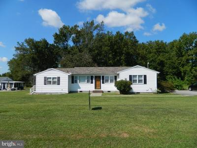 Caroline County Single Family Home For Sale: 22382 Shore Highway
